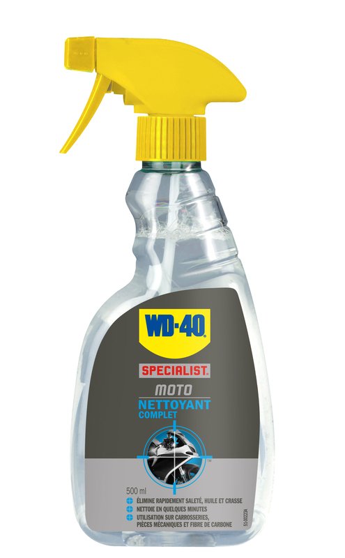 Nettoyant complet WD 40 Specialist Moto - spray 500ml