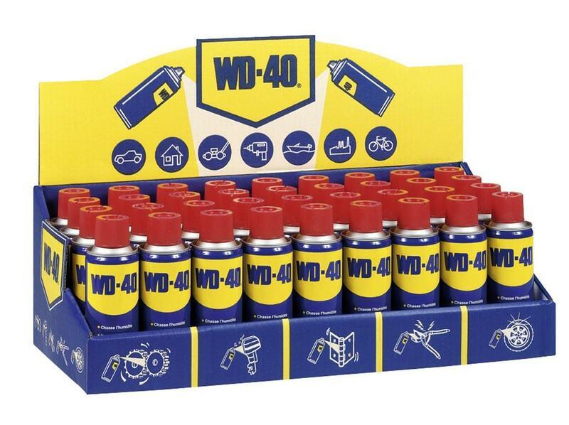 Présentoir WD-40 + aérosol 200ml