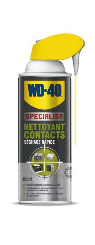 Nettoyant contact WD 40 Specialist® - Spray 400 ml