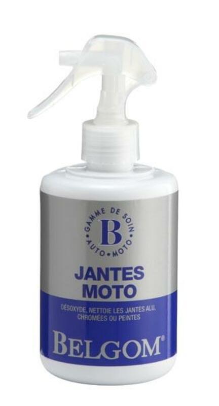 Jantes moto BELGOM - spray 250ml