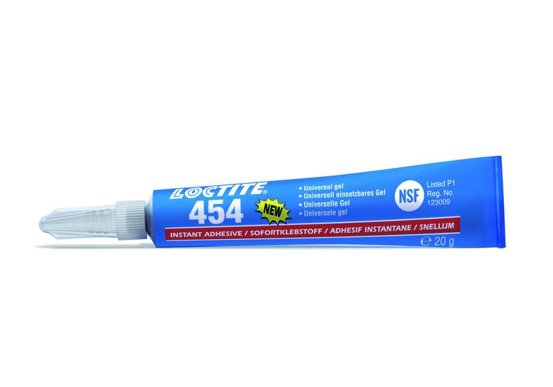 Colle cyanoacrylate gel LOCTITE 454 - tube 5g