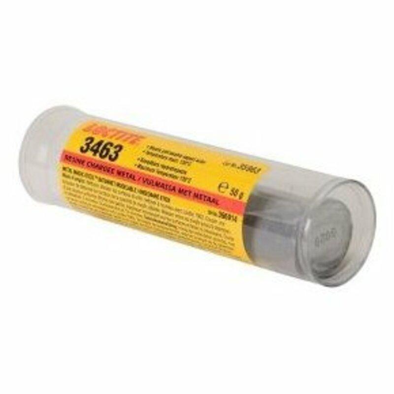 Résine époxy bi-composant acier LOCTITE 3463 - Stick 25g