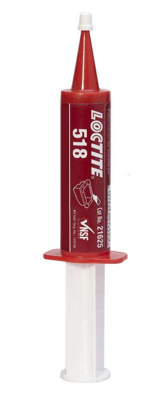 Pâte à joints moteur LOCTITE 518 - seringue 50ml