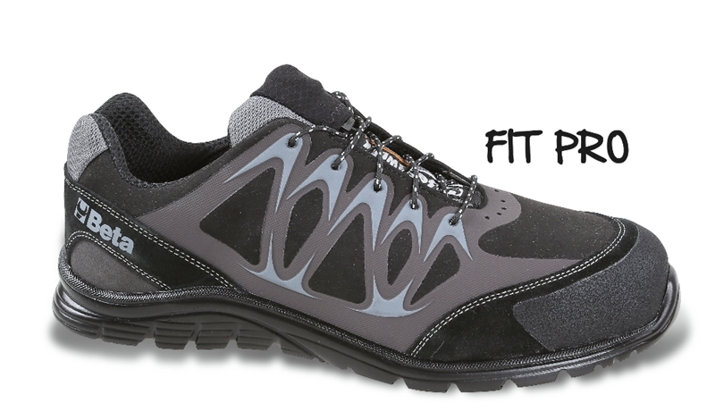 Chaussure basse en micro-croûte de velours BETA taille 45