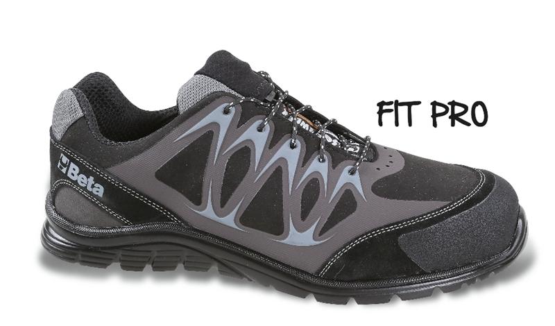 Chaussure basse en micro-croûte de velours BETA taille 46