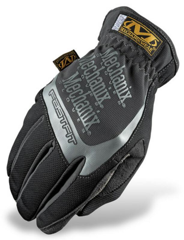 Gants MECHANIX Fast Fit noir/gris taille L