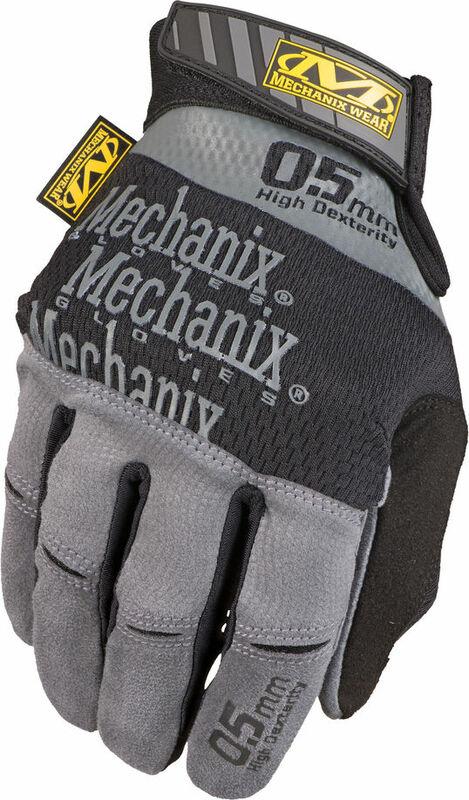 Gants MECHANIX Specialty 0.5mm High-Dexterity gris taille XL