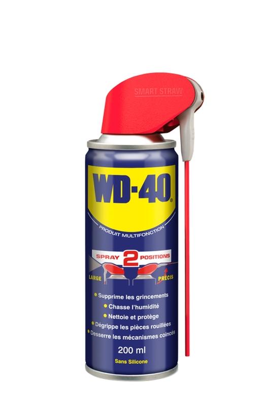 Présentoir + aérosol WD-40 System Pro 20x200ml