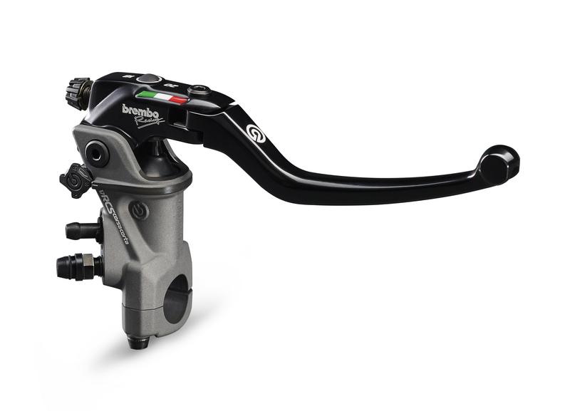 Maître-cylindre de frein BREMBO UPGRADE Pr17 RCS Corsacorta Levier Long Repliable