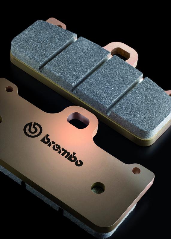 Plaquettes de frein BREMBO UPGRADE Z04 métal fritté P4 30/34 Calliper