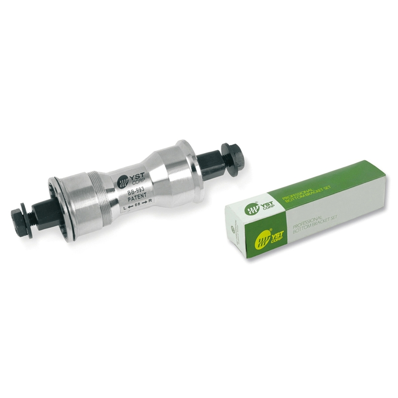 Jeu de pédalier V BIKE sans filetage - axe 122,5mm