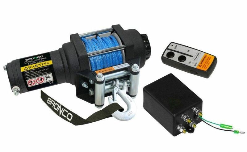 Treuil ART 3500 câble synthétique
