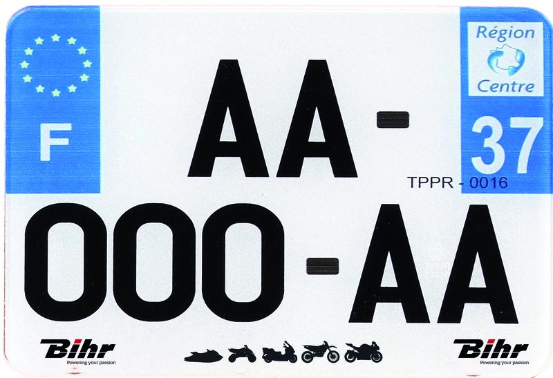 Plaques Françaises PPI 210x130 SIV Département 976 PVC 10 pièces