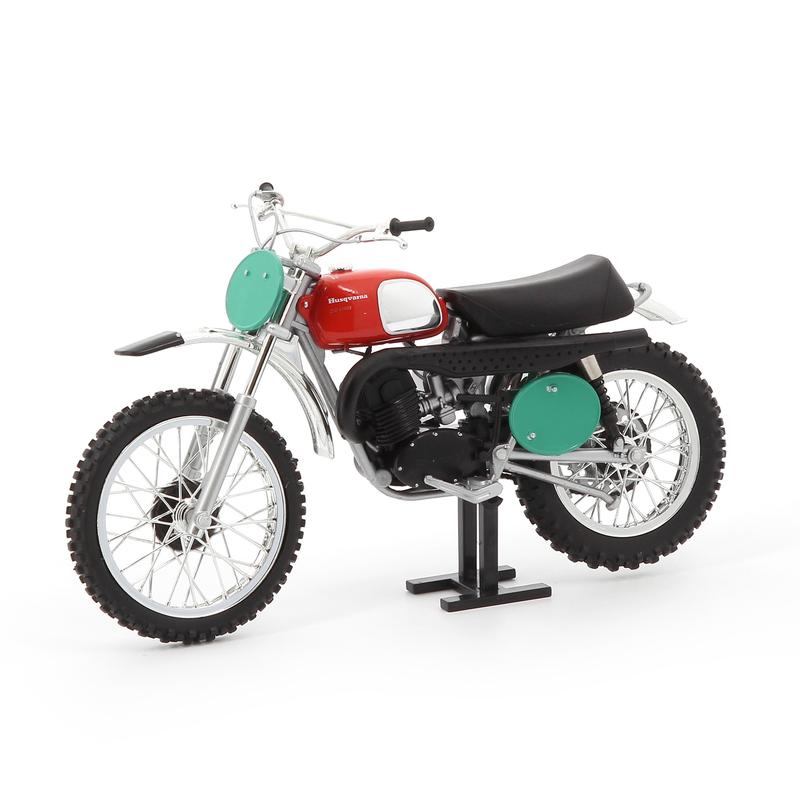 Modèle réduit 1:12ème Husqvarna 250 1970
