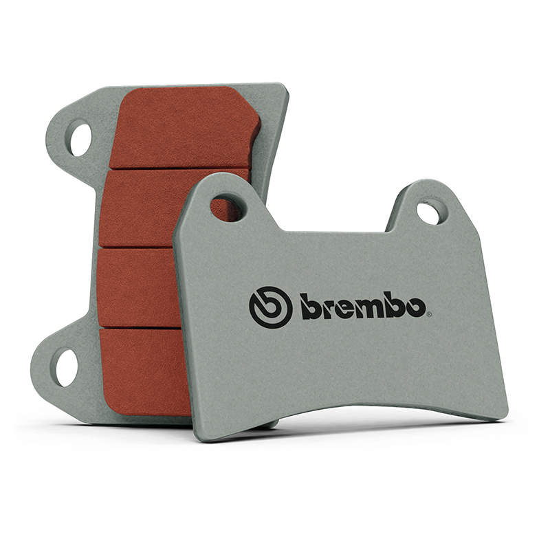 Plaquettes de frein BREMBO type 07HO28 SR métal fritté - sport
