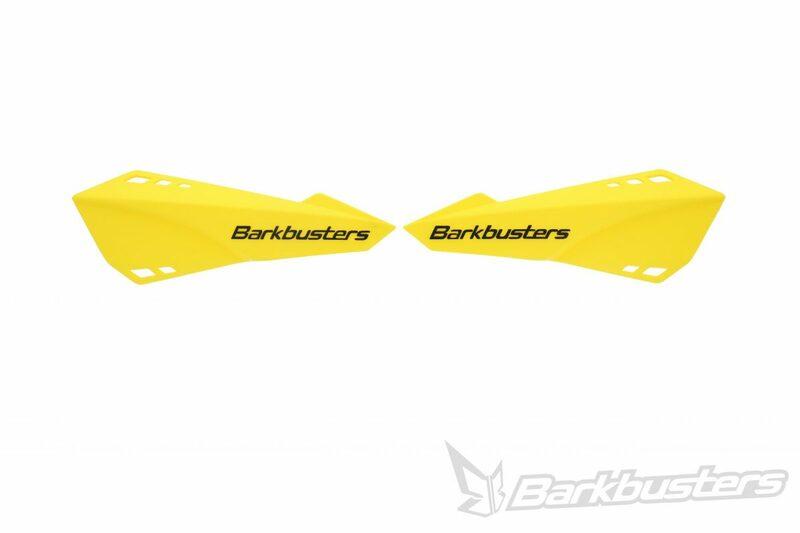 Kit de protège-mains pour vélo BARKBUSTERS jaune