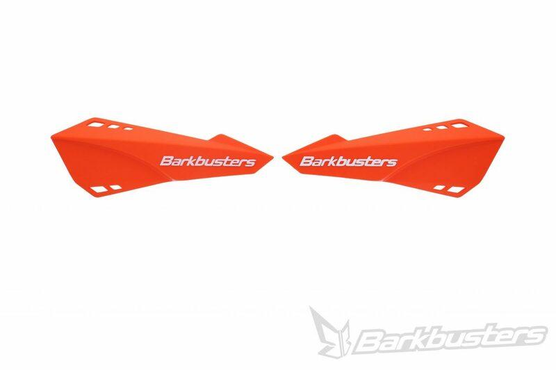 Plastique de protège-mains BARKBUSTERS orange