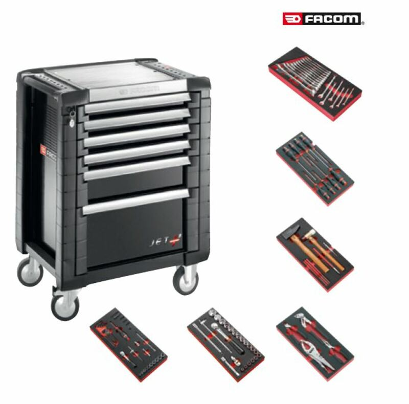 Servante équipée FACOM 104 outils
