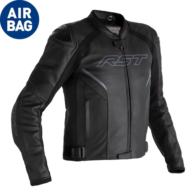 Veste RST Sabre Airbag cuir noir taille 3XL