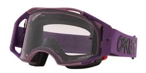Masque OAKLEY Airbrake MTB Heritage Stripe Lavender écran Prizm Low Light