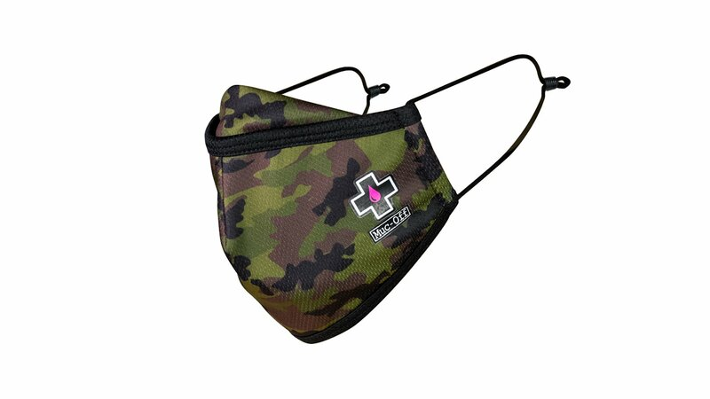 Masque lavable MUC-OFF Woodland Camo taille S