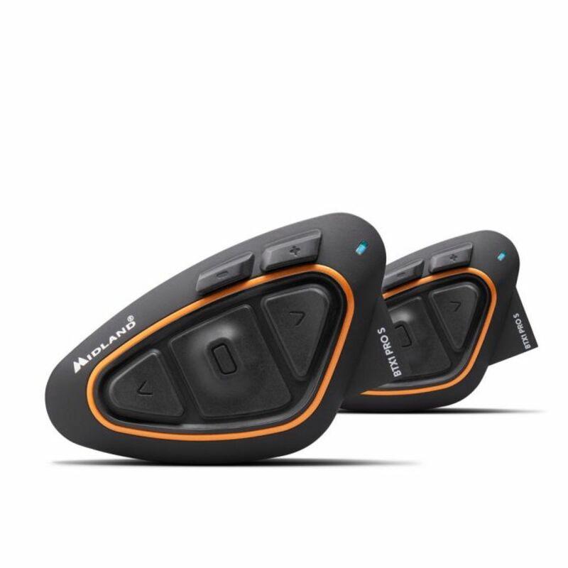 Intercom MIDLAND BTX1 Pro S Twin noir/orange