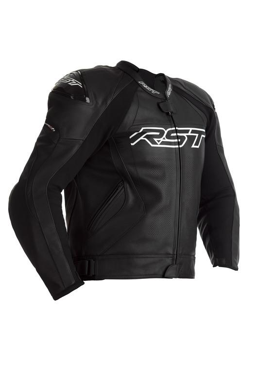 Blouson RST Tractech EVO 4 CE cuir - noir taille L