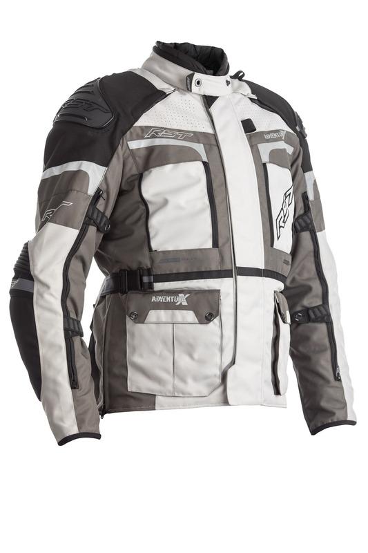 Veste RST Adventure-X CE textile - gris taille S