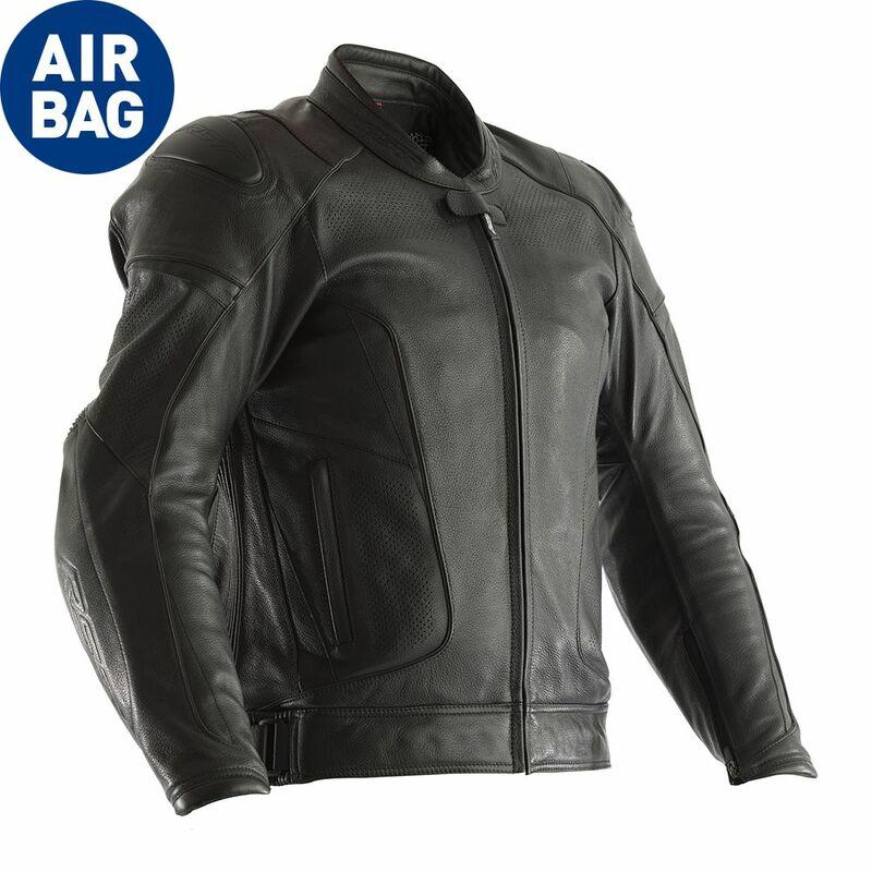 Blouson RST GT Airbag CE cuir -noir taille S