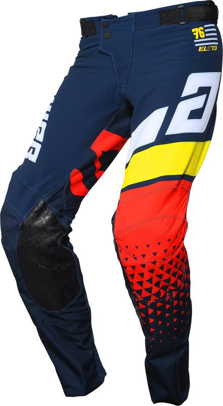 Pantalon ANSWER Elite Korza Midnight/White/Pro Yellow/Red taille 36