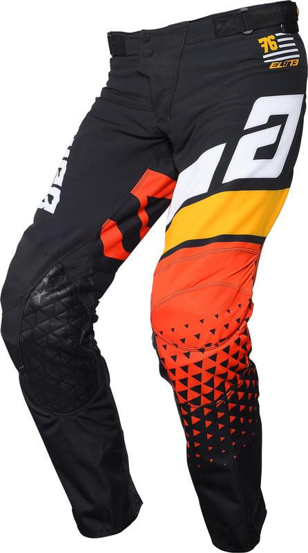 Pantalon ANSWER Elite Korza Black/White/Bus/Orange taille 28