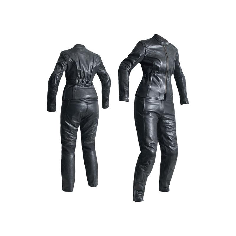 Pantalon RST Ladies Kate femme cuir - noir taille XL