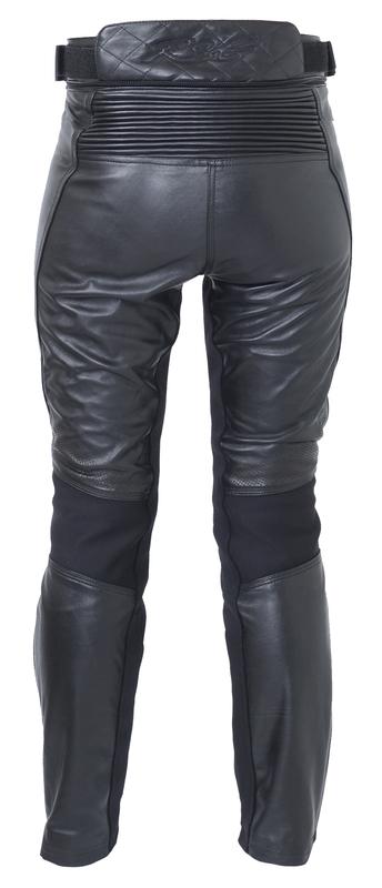 Pantalon RST Ladies Kate femme cuir - noir taille 3XL