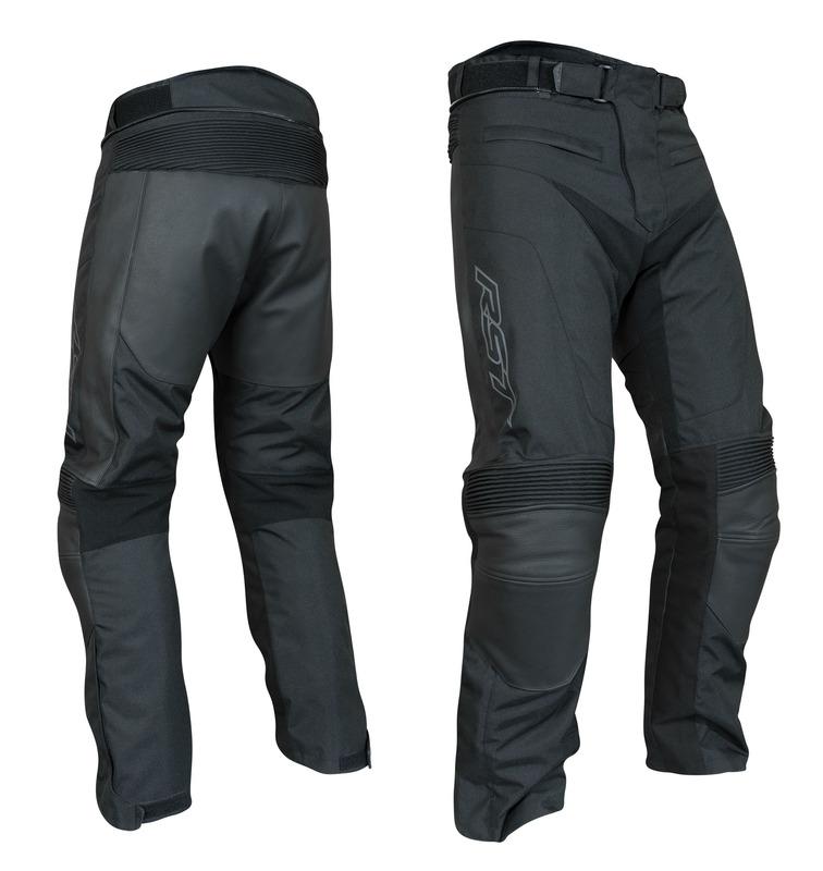 Pantalon RST Syncro Plus CE textile/cuir - noir taille S