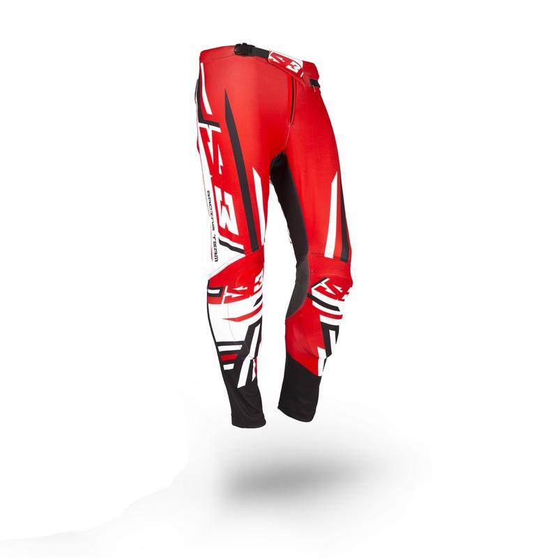 Pantalon S3 Racing Team rouge/noir taille 40