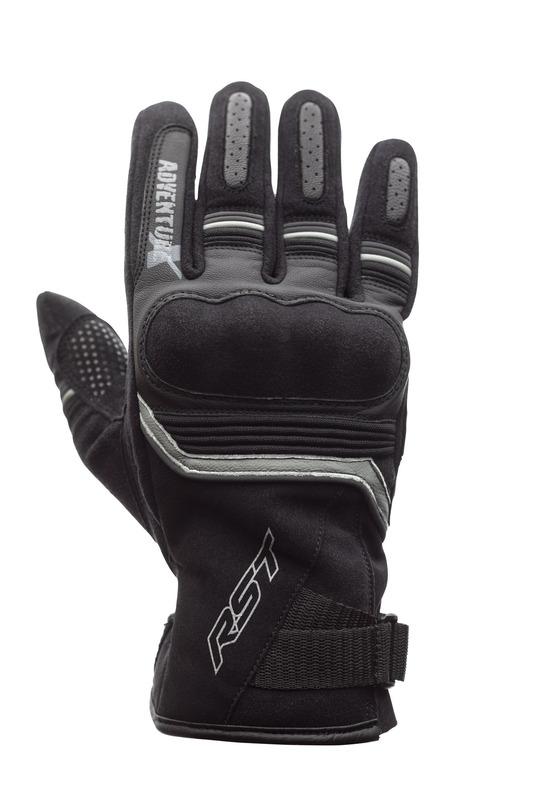 Gants RST Adventure-X CE cuir - noir taille M