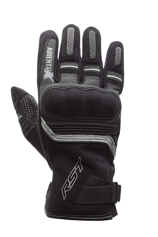 Gants RST Adventure-X CE cuir - noir taille 2XL