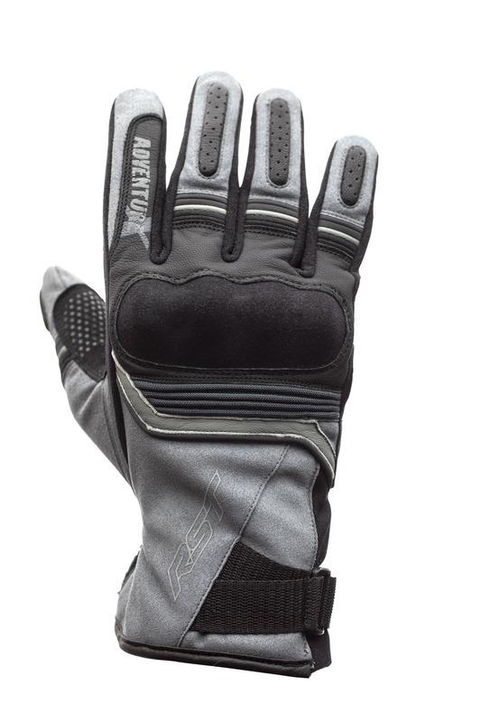 Gants RST Adventure-X CE cuir - gris taille S