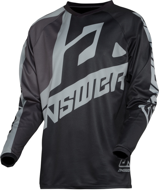 Maillot ANSWER Syncron Voyd Black/Charcoal/Steel taille L