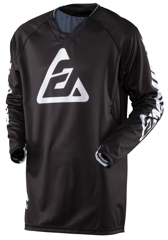 Maillot ANSWER Elite Solid noir taille S