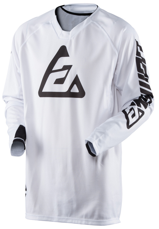 Maillot ANSWER Elite Solid blanc taille XXL