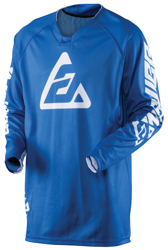 Maillot ANSWER Elite Solid bleu taille M