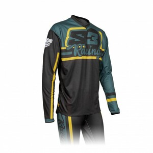 Maillot S3 Vint vert/noir taille XL