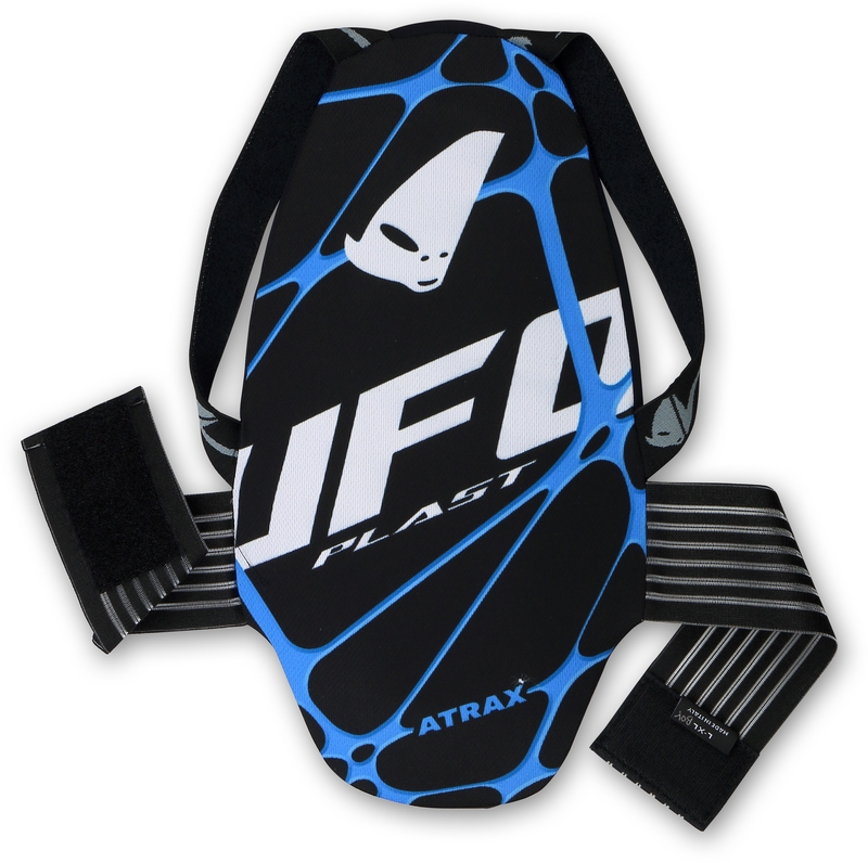 Protection dorsale UFO Atrax noir taille YM