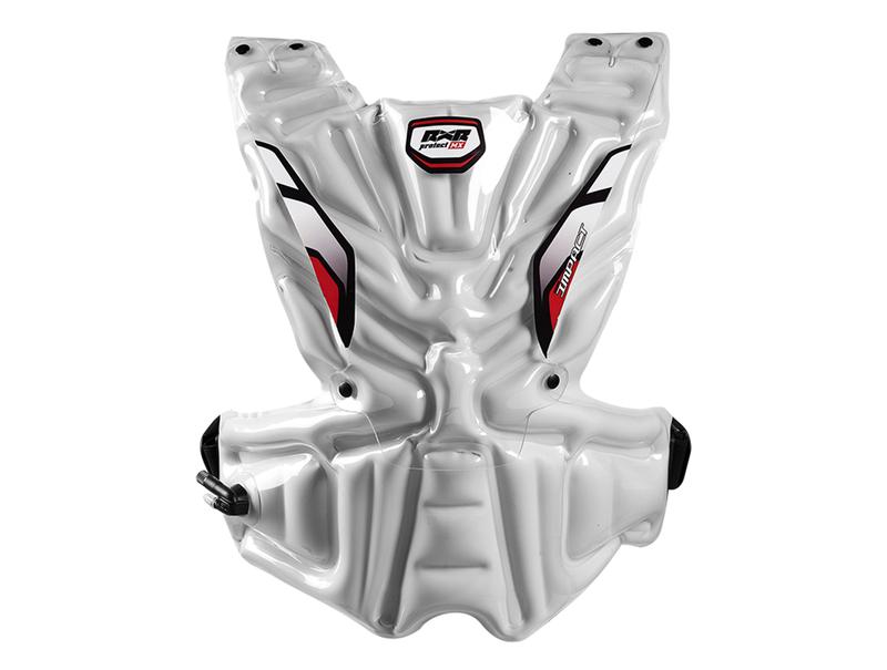 RXR Protect chambre à air de rempacement Asa Impact arrière blanche Taille L