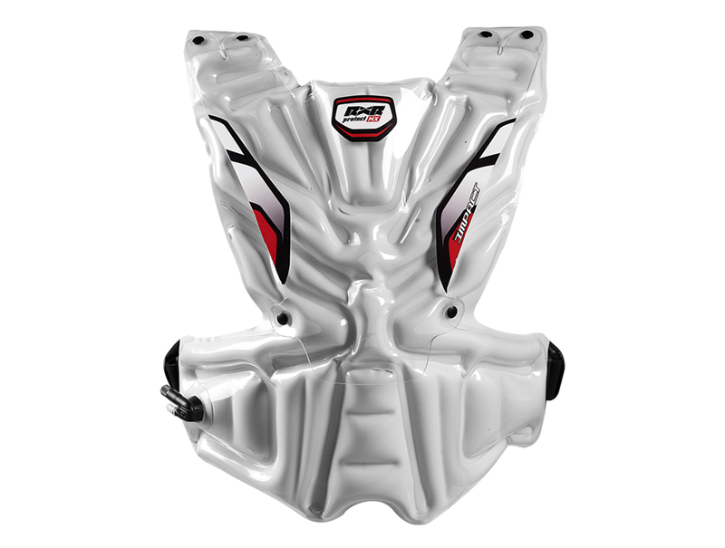 RXR Protect chambre à air de rempacement Asa Impact arrière blanche Taille XL