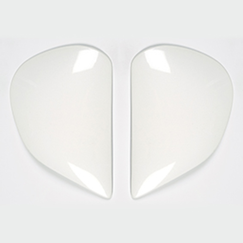 Plaques pivot ARAI Super AdSis J (LRS) Diamond White pour casques RX-7 GP/Viper/Astro-Light/Quantum/Quantum-ST/Quantum-ST PRO/Chaser/Chaser-V/Chaser-V PRO/Axces II
