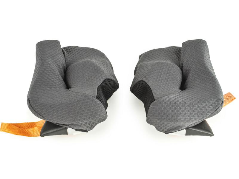 Mousses de joues ARAI Dry-Cool FCS 15mm pour casques RX-7 GP/Quantum/Quantum-ST/Quantum-ST PRO