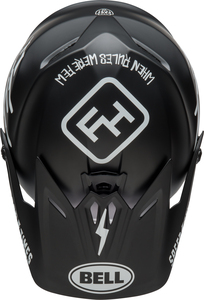 Visière BELL Moto-9 Youth Fasthouse Black/White