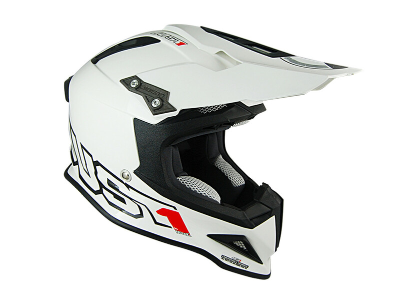 Casque JUST1 J12 Solid White taille XL